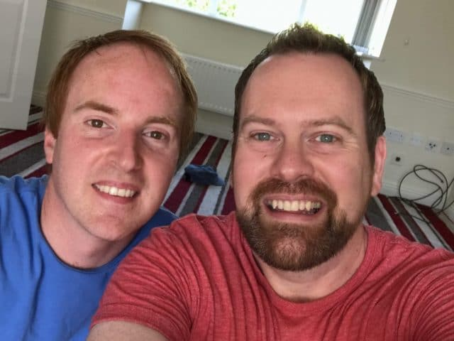 Lee and Mark